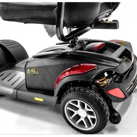 Golden Technologies Buzzaround Extreme 4-Wheel Mobility Scooter GB148D Rear Wheel View