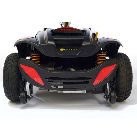 Golden Technologies Buzzaround LX 3-Wheel Back Wheel View