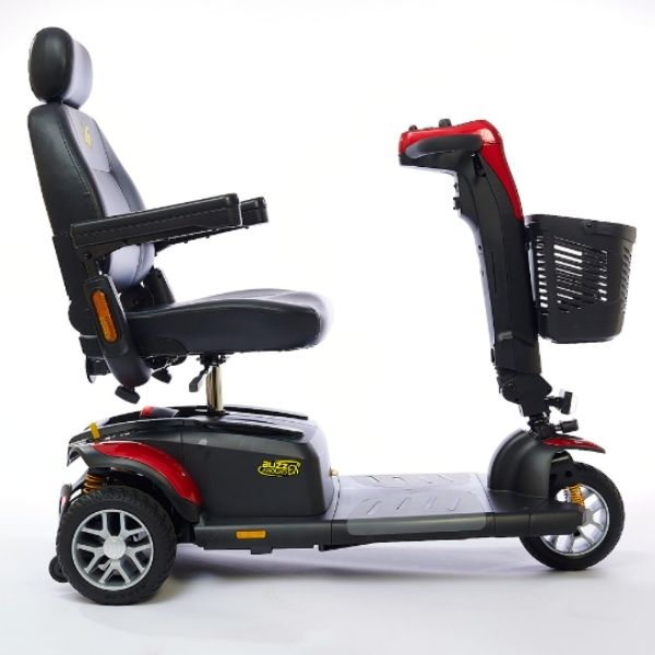 Golden Technologies Buzzaround LX 3-Wheel Scooter Side View