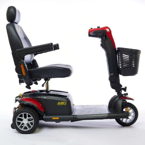Golden Technologies Buzzaround LX 3-Wheel Red Side view