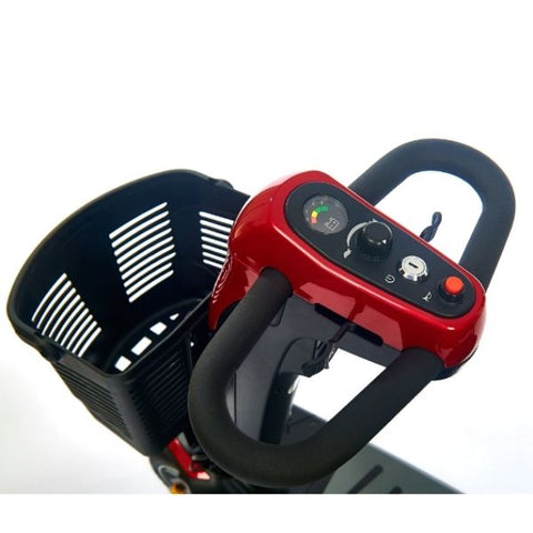 Golden Technologies Buzzaround LX3-Wheel Tiller Basket View