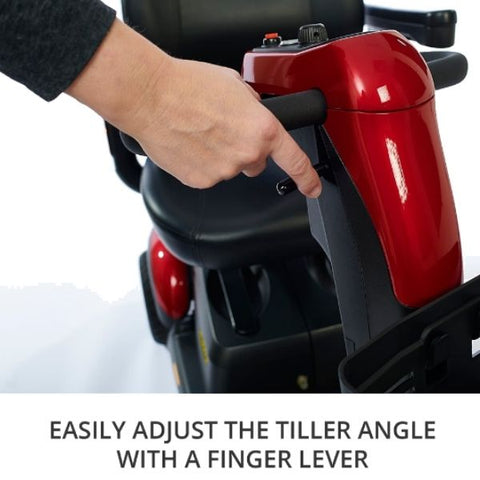 Golden Technologies Buzzaround LX3-Wheel Tiller with Finger lever View