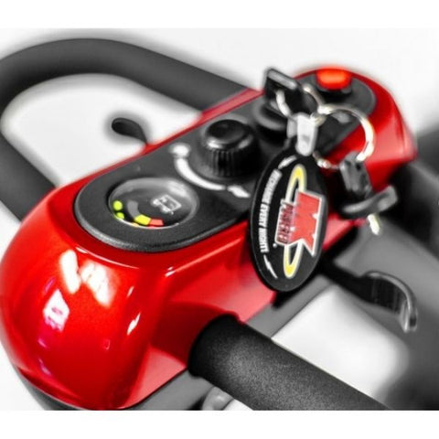 Golden Technologies Buzzaround XLHD 3-Wheel Scooter GB117H Delta Handlebar View