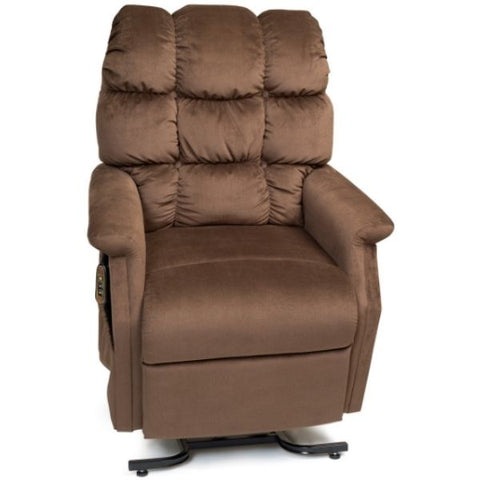 Golden Technologies Cambridge Signature Series 3 Position Lift Chair PR401 Hazelnut Front View
