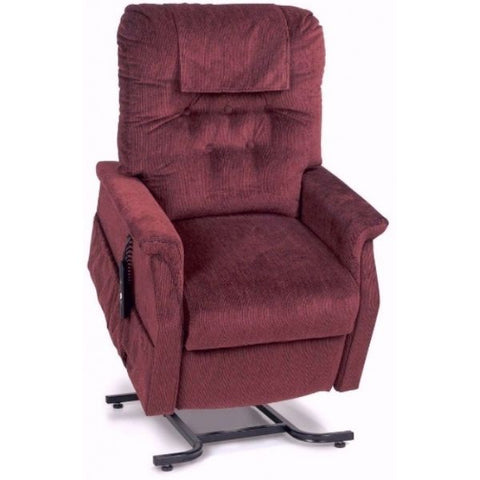 Golden Technologies Capri Value Series 2-Position Lift Chair PR200 Rosewood Front View