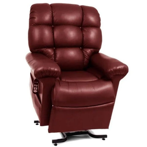 Golden Technologies Cloud Zero Gravity Maxicomfort Lift Chair PR510 Beet Root Brisa