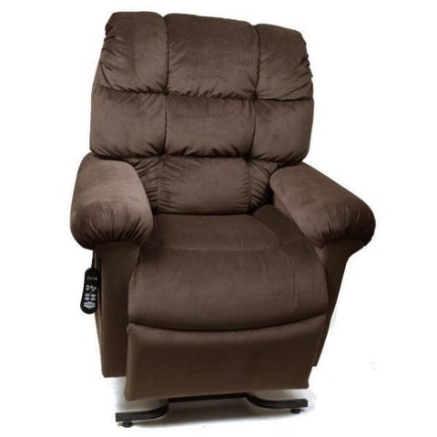 Golden Technologies Cloud Zero Gravity Maxicomfort Lift Chair PR510 Hazelnut Front View