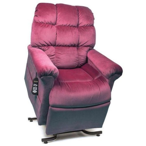 Golden Technologies Cloud Zero Gravity Maxicomfort Lift Chair PR510 Shiraz Front View