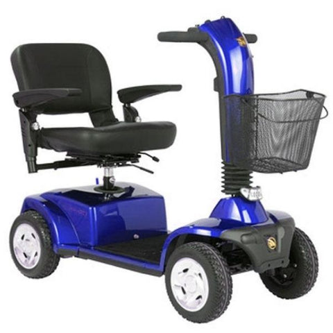 Golden Technologies Companion 4-Wheel Bariatric Scooter GC440D Blue Right View