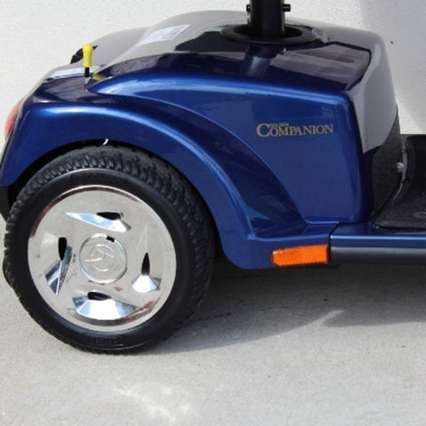 Golden Technologies Companion 4-Wheel Bariatric Scooter GC440D Rear Wheel View