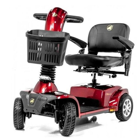 Golden Technologies Companion 4-Wheel Bariatric Scooter GC440D Red Front View