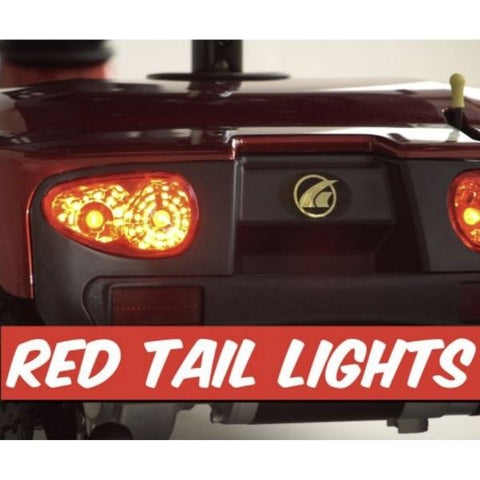 Golden Technologies Companion 4-Wheel Bariatric Scooter GC440D Tail Lights View