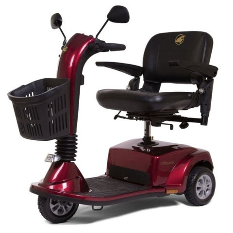Golden Technologies Companion Mid 3-Wheel Scooter GC240 Red Right Side View