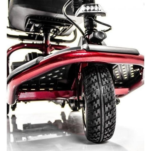 Golden Technologies LiteRider 3-Wheel Mobility Scooter GL111D Front Wheel View