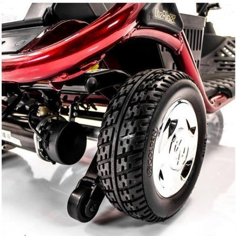 Golden Technologies LiteRider 3-Wheel Mobility Scooter GL111D Rear Wheel View