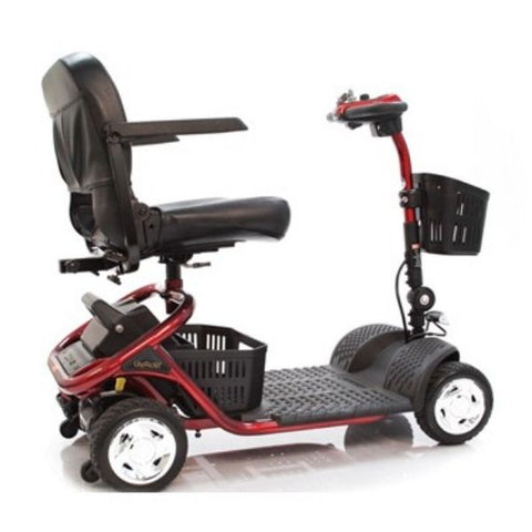 Golden Technologies LiteRider 4 Wheel Mobility Scooter GL141D Side View