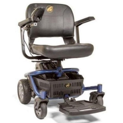 Golden Technologies LiteRider Envy GP162B Power Chair PTC Blue Front View