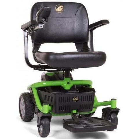 Golden Technologies LiteRider Envy GP162B Power Chair PTC Green Front View