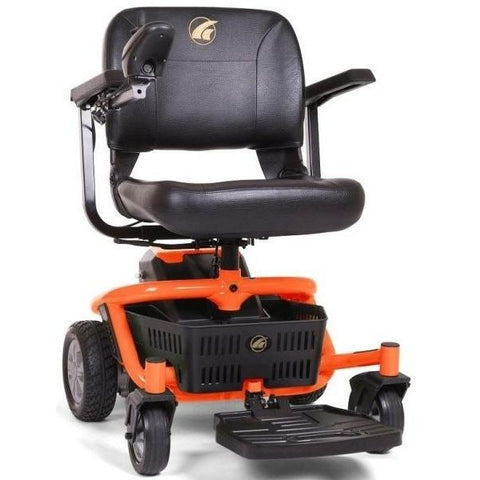 Golden Technologies LiteRider Envy GP162B Power Chair PTC Orange Front View