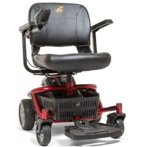 Golden Technologies LiteRider Envy GP162B Power Chair PTC Red Front View
