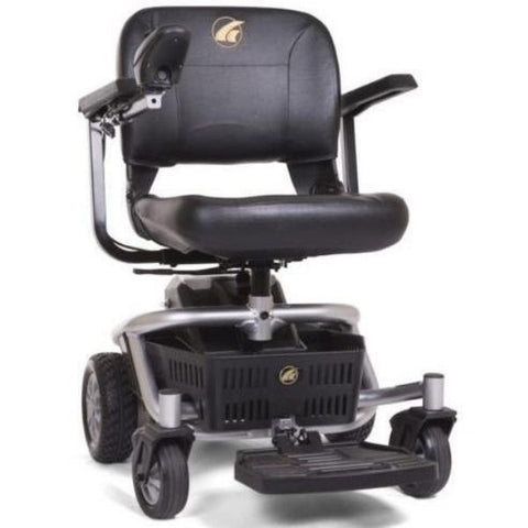 Golden Technologies LiteRider Envy GP162B Power Chair PTC Silver Front View