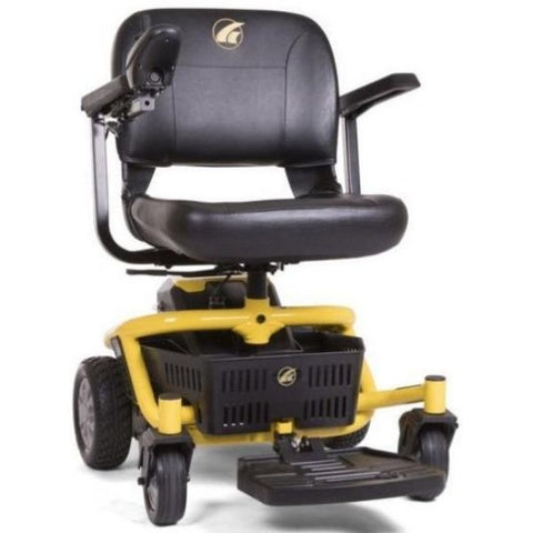 Golden Technologies LiteRider Envy GP162B Power Chair PTC Yellow Front View