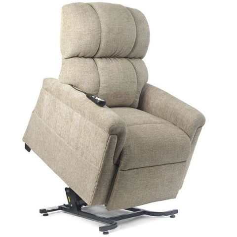 Golden Technologies MaxiComforter Zero Gravity Lift Chair PR-535 Sandstorm Fabric Elevated View