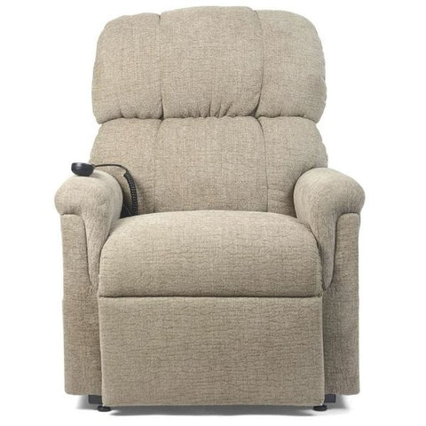 Golden Technologies MaxiComforter Zero Gravity Lift Chair PR-535 Sandstorm Fabric Front View