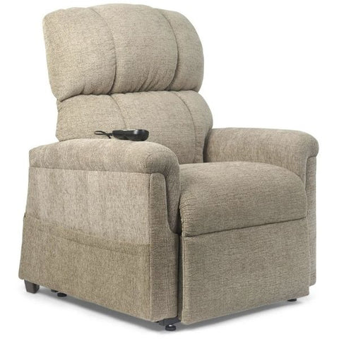 Golden Technologies MaxiComforter Zero Gravity Lift Chair PR-535 Sandstorm Fabric Right Front View