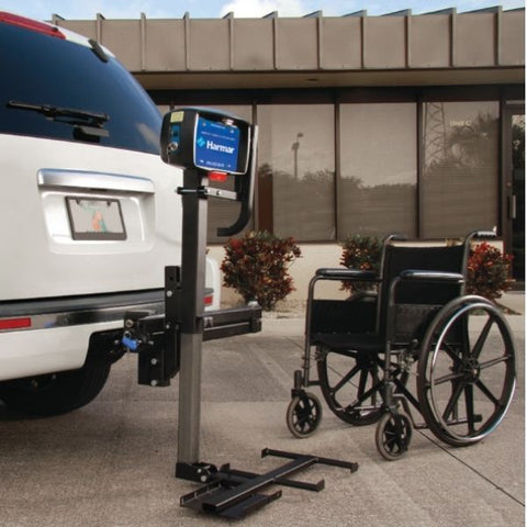 Harmar AL030 Power Tote transport your manual folding wheelchair View