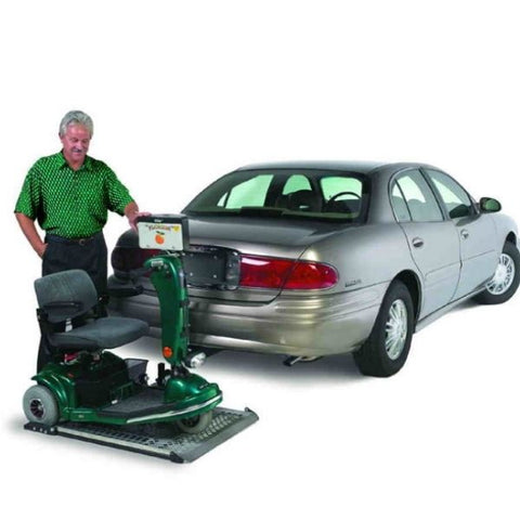Harmar AL100HD Heavy Duty Platform Scooter Lift Carries Scooter View