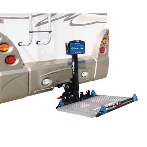 Harmar AL300RV RV Power Chair and Scooter Lift Easy Installed View