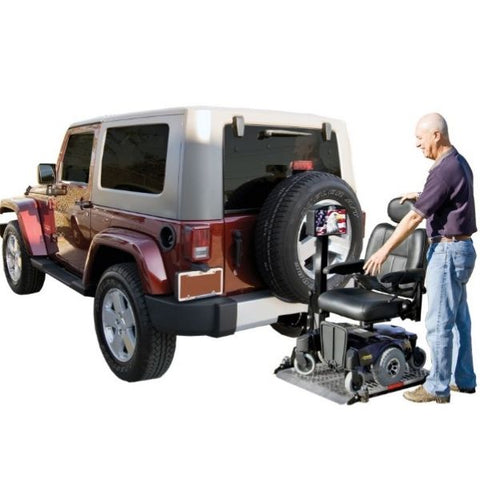 Harmar AL500 Platform Power Wheelchair Carries Virtually View