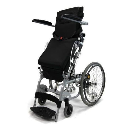 Karman XO-101 Manual Push Power Assist Stand Wheelchair Standing View