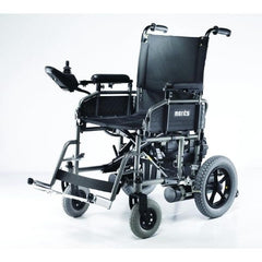 Merits Health P101 Travel-Ease Electric Folding Power Chair Front View
