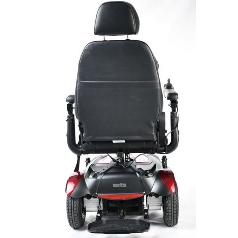 Merits Health P312 Dualer Power Chair Rear View