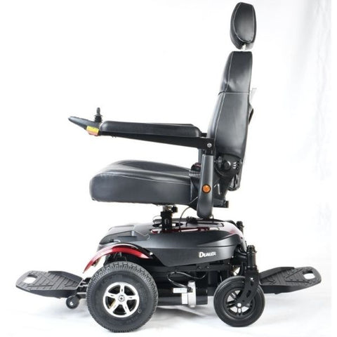Merits Health P312 Dualer Power Chair Right Side View Turned Around