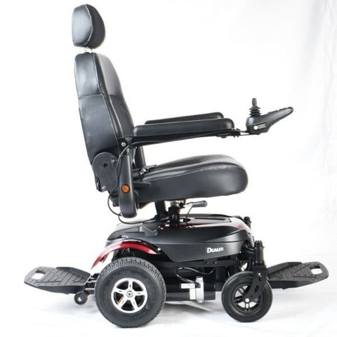 Merits Health P312 Dualer Power Chair Right Side View