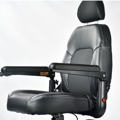 Merits Health P312 Dualer Power Chair Seat View