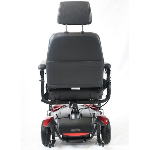 Merits Health P320 Junior Light Compact Power Chair Back View