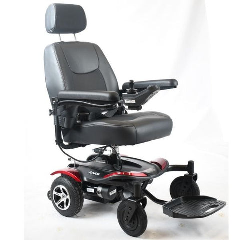 Merits Health P320 Junior Light Compact Power Chair Right Front View
