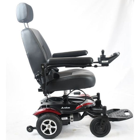 Merits Health P320 Junior Light Compact Power Chair Right Side View