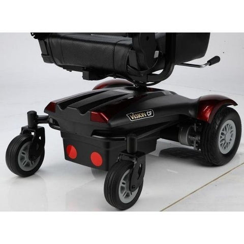 Merits Health P322 Vision CF Compact Electric Wheelchair Wheels View