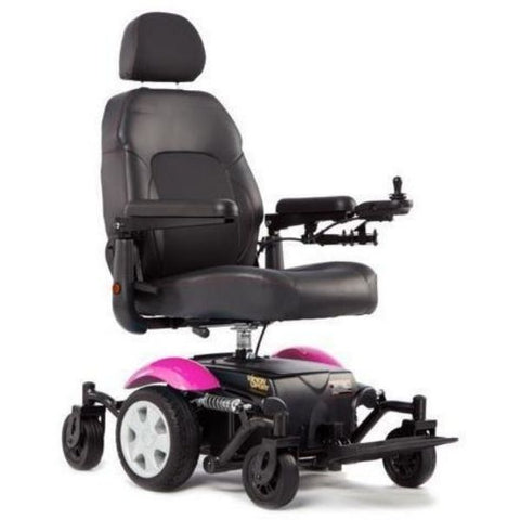 Merits Health P326A Vision Sport Electric Wheelchair Pink Right View