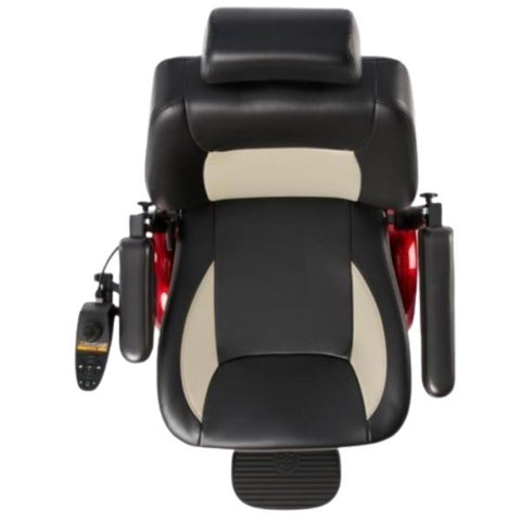 Merits Health P327 Vision Super Power Bariatric Chair Adjustable Padded Seat View