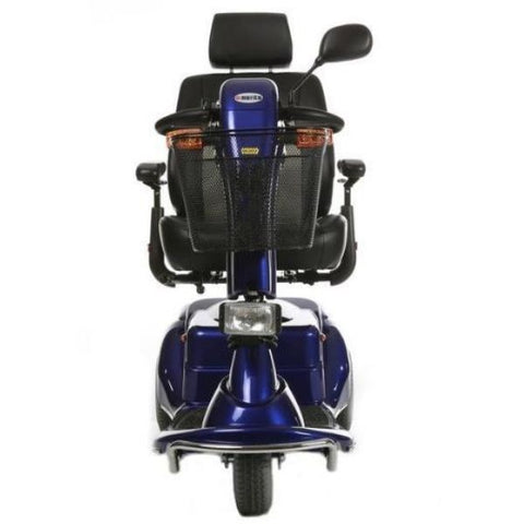 Merits Health S131 Pioneer 3 Travel 3 Wheel Scooter Blue Front View