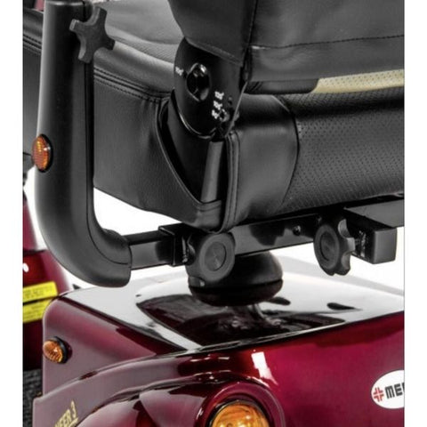 Merits Health S131 Pioneer 3 Travel 3 Wheel Scooter Bottom Seat View