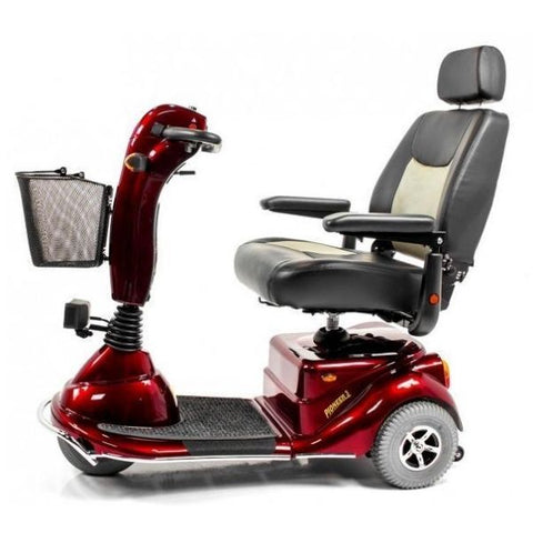 Merits Health S131 Pioneer 3 Travel 3 Wheel Scooter Side View