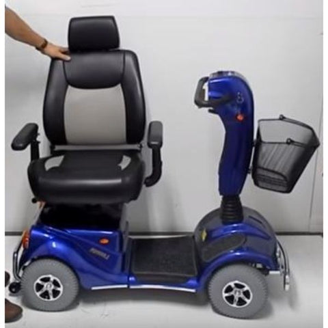Merits Health S141 Pioneer 4 Wheel Scooter Adjustable Seat View