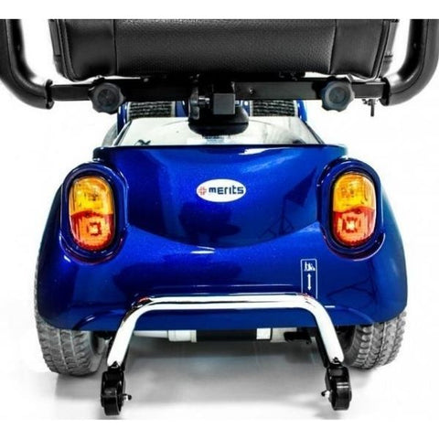 Merits Health S141 Pioneer 4 Wheel Scooter Tail Lights and Turn Signals View